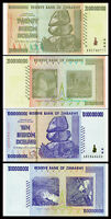 ZIMBABWE SET 2 Pcs 10, 20 (BILLION) DOLLARS 2008 P-85 P-86 UNC