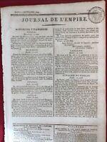 Volcan du Vésuve 1809 Italie Bastia Châlons-sur-Marne Chaumont Madrid Empire