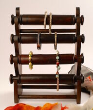 Schmuckständer aus Holz geschnitzt, 4-fach, Schmuckbüste, H: ca.38 cm, Armreifen