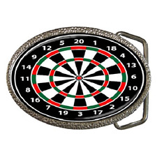 DARTS DART BOARD THEME BELT BUCKLE - GREAT GIFT ITEM