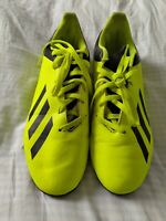 Adidas TF Junior Kids Astro Football Boots Trainers Soccer Shoes yellow X 18.4