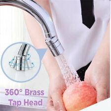 360° Swivel Faucet Tap Head Replacement Extender Sprayer Water Saving Kitchen