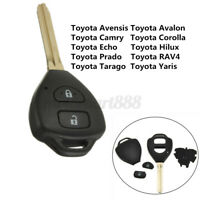 Remote Key Shell & Blade For Toyota Rav4 Corolla Camry Yaris Hilux
