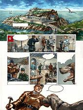 PLANCHE ORIGINALE de la revue casier(s) n°2 - Gwendal LEMERCIER
