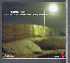 THIERRY MACHUEL CD NEW PSALM LAURENCE EQUILBEY/ GEOFFROY JOURDAIN