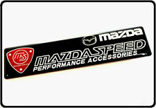 Mazdaspeed Car Badge Emblem Decal Sticker Boot Side  Mazda Motor Sport MS (30)