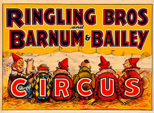Ringling Brothers & Barnum & Bailey Circus II A2 High Quality Canvas Print