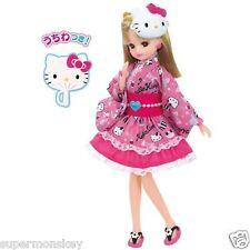 TAKARA TOMY JAPAN LICCA DOLL HELLO KITTY 40TH YUKATA DRESS LA81480