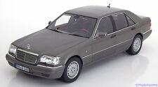 1:18 Norev Mercedes S600 W140 1997 greymetallic