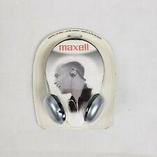 Maxell Nb-201 Stereo Neckbands Headphone - Black - Wired - 32 Ohm