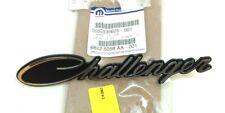 15-20 Dodge Challenger front grille chrome black Script Nameplate Emblem OEM