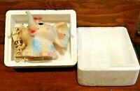 LEDRA PLASTIC GIOCHI GOMMA LAMPADA ELEFANTE ELEFANTINO old vintage toy toys