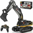 kolegend Remote Control Excavator Toy Truck,1/18 Scale RC Excavator Construction
