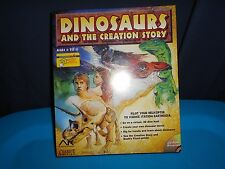 Dinosaurs And The Creation Story PC CD New In Box Chariot Media Windows Bible