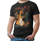 Unofficial Pokemon T-Shirt CHARIZARD Kaiju Giant Monster T Shirt Kids & Adult