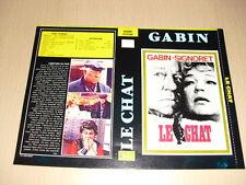 JAQUETTE VHS Le Chat Jean Gabin Simone Signoret