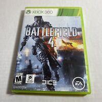 Battlefield 4 (Microsoft Xbox 360, 2013) Complete Free Ship Video Game