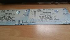Britain's got talent live 2011  unused concert ticket B2 H