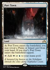 Shadows Over Innistrad ~ PORT TOWN rare Magic the Gathering card