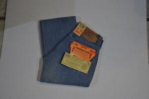 Levi's 501 originale strauss & co Jeans chiaro modello diritto con bottoni