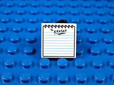 LEGO-MINIFIGURES SERIES THE BATMAN MOVIE X 1 TILE FOR THE ERASER FIGURE PARTS