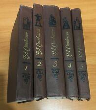 Роберт Льюис Стивенсон Robert Louis Stevenson 5 volumes ~Book in Russian ~1981