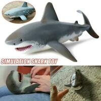 Lifelike Shark Shaped Kids Funny Gift Toy Realistic Simulation Animal S2F7