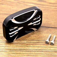 1X Shallowcut Front Hydraulic Clutch Master Cylinder Cover For Harley FLHX 14-16