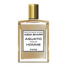 Extrait de Parfum Concentré sans alcool AQUATIC pour HOMME  Roll on alcohol-free
