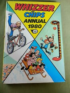 Whizzer And Chips Annual 1980 Unclipped 128 Pages Odd Ball, Joker, Whizz Wheels