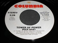 Tower Of Power: Rock Baby (Stereo) / (Mono) 45