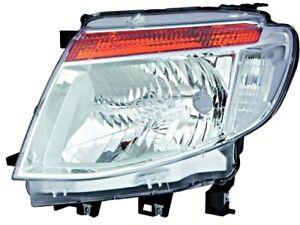 Headlight Front Lamp Chrome LEFT Fits FORD Ranger Pickup 2011-