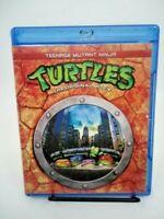 Teenage Mutant Ninja Turtles Original Movie & Turtles in Time 3 Bluray LIKE NEW