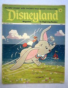 1972 Disneyland Comics Magazine No 23 Dumbo and Timothy Mouse