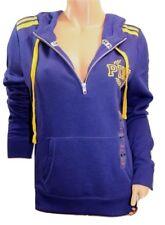 Victoria's Secret Pink Fleece Graphic Perfect Half Zip Hoodie Dark Blue Small