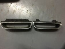 Commodore VR-VS Exec Acclaim Front Grills Pair Black Silver Tips Not Chrome