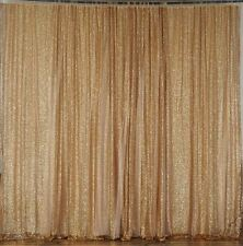 20 ft x 10 ft GOLD Sequins BACKDROP Wedding Party Photo Booth Decorations SALE