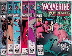 Wolverine #11-16 1988 Marvel Comics X-Men The Gehenna Stone Affair full Story