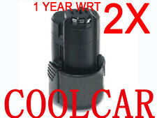 2 Battery For Bosch 10.8V 12V Li-ion 1.5Ah GSR GDR 10.8V-Li BAT411A GWI10.8 V-Li