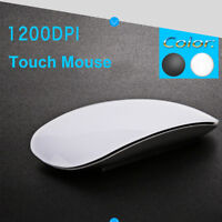 TM-823 Wireless Optical USB Multi Touch Scroll Mouse For Apple Macbook Laptop WH