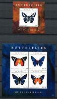 St. Vincent Bequia 2012 Schmetterlinge Butterflies Papillon Farfalla Insects MNH