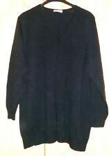 Neues AngebotUlla Popken Pullover schwarz mit V-Ausschnitt Gr 50/52 neu