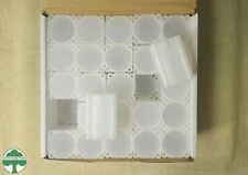 BOX OF 50 SQUARE LARGE DOLLAR TUBES - MEGHRIG - NO COINS