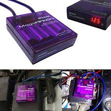 Universal PIVOT MEGA RAIZIN Fuel Saver Voltage Stabilizer Regulator JDM Purple