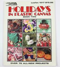 Holidays In Plastic Canvas Leisure Arts Craft Leaflet 1517 Over 75 Projects