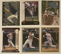 Darin Erstad 6-CARD LOT including ROOKIE 1997 Ultra Rookie Reflections #3