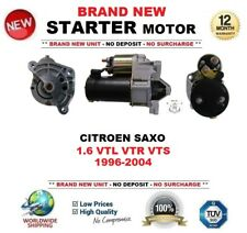 FOR CITROEN SAXO 1.6 VTL VTR VTS 1996-2004 BRAND NEW STARTER MOTOR 1.4kW 9 Teeth