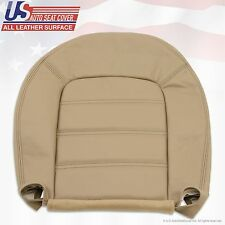 2002 to 2005 Ford Explorer XLT Driver Bottom Replacement Leather Seat Cover Tan