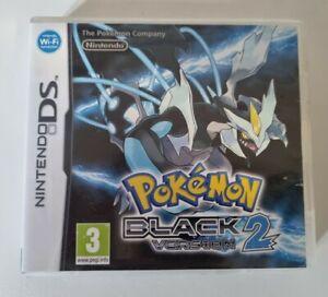 Pokemon Black 2 Version Nintendo DS - Cartridge Not Working read description