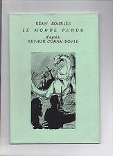 Rémy Bourlès. Le Monde perdu (Conan Doyle)  Bedephilia 1998 - Science-Fiction